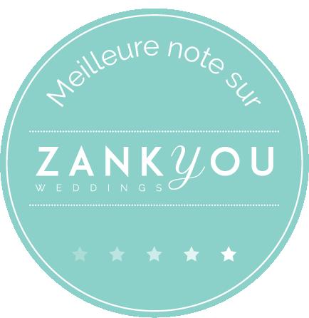 Certification meilleur traiteur de Gironde par Zankyou